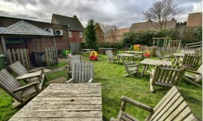 The Wombourne Pool Bar Secure Outdoor Play Area
